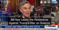 Comparing Trump to people who believe in astrology, Bill Nye explains the pathology of Trump's anti-science hysteria.