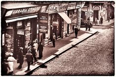 Librăria Petru Bitir Galați | foto perioada interbelică | Știrile Galațiului Street View