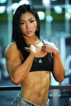 Female Fitness and Bodybuilding Beauties: Jhi Yeon-woo - Female Fitness