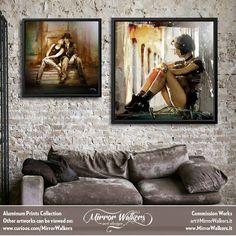 Aluminum Prints - All artworks designed by Claudio Tosi, comes with a numbered and signed certificate of authenticity.  - #curioos #inspiration #artist #illustrator #photoshop #art #artwork #photooftheday #homedecor #home #deco #interior #interiordesign #illustration #decor #digitalart #creativity #creative #digital #visualart #photo #artprint #graphic #design #graphicdesign #Handmade