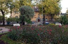 Eiran sairaala sijaitsee Eiran puiston vieressä. Sairaala antoi nimensä koko kaupunginosalle [Vladimir Pohtokari]