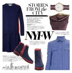 """""""Pack for NYFW"""" by kreateurs ❤ liked on Polyvore featuring NYFW, contestentry, Packandgo and kreateurs"""