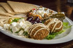Traditional Mediterranean fare