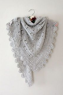 Victoria Shawl by Sandra Paul of Cherry Heart - crochet pattern!