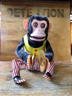 Creepy ClapperCymbal Monkey Voodoo Doll