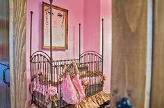 Custom Baby Bedding Pink and Gold Baby by RitzyBabyOriginal