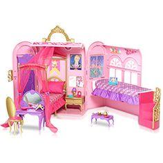 Barbie - Escola de Princesas - Quarto Mágico -