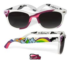 Sunglasses  Wayfarer style sunglasses My Little Pony by ketchupize, €37.00