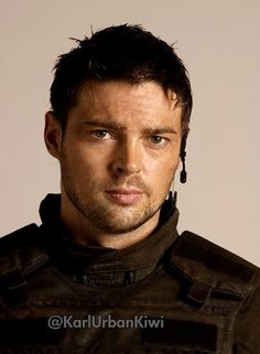 Karl urban. Doom.