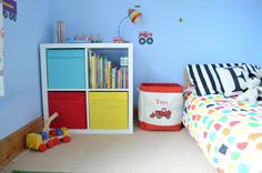 A Boy's Colourful Bedroom Update...