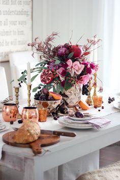 Fall - Thanksgiving tablescape -Craftberry Bush