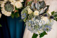 Amanda Bradford, Shades Of Blue, Floral Design, Succulents, Bouquet, Table Decorations, Bridal, Plants, Floral Patterns