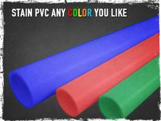 Stain Pvc Pipe Any Color You Like