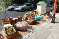 3318-3320 22nd Street Parklet (Hosted by Fabric8) by sfplanning, via Flickr