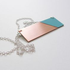 Copper Mint Necklace