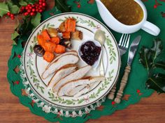 Instead of Roast Turkey:  Slow-Cooker Turkey Breast