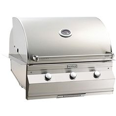Fire Magic Aurora A660i 30inch Builtin Natural Gas Grill With One Infrared Burner And Analog Thermometer  A660i5lan *** Read more reviews of the product by visiting the link on the image.(This is an Amazon affiliate link and I receive a commission for the sales)