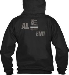 Alabama EMT Thin White Line Hoode  Wear your AL Paramedic and EMS pride and show your support for the Alabama Thin White Line.  - Official Thin Line Style Apparel, printed in The USA - 50% Cotton, 50% Polyester - Double-needle stitching for durability, double-lined hood, pill-resistant air jet yarn - Machine Wash Warm, Tumble Dry Low. Do not bleach.