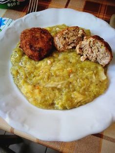 Kelkáposzta főzelék, liszt nélkül Risotto, Curry, Healthy Recipes, Ethnic Recipes, Food, Bulgur, Curries, Essen, Healthy Eating Recipes