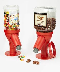 Love this Classy Red Snack Spout Dispenser - Set of Two by Snack Spout on #zulily! #zulilyfinds