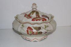 VINTAGE ROSENTHAL POMPADOUR GODESBERG PORCELAIN CRACKER/BISCUIT JAR-GERMANY   Pottery & Glass, Pottery & China, China & Dinnerware   eBay!