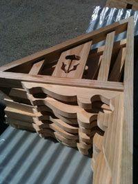 Timber Window Awnings