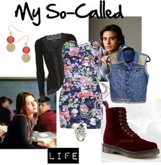 """My So-Called Life Grunge Outfit"" by missstevierae on Polyvore"