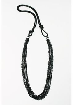 KNOTS AND CHAINS NECKLACE
