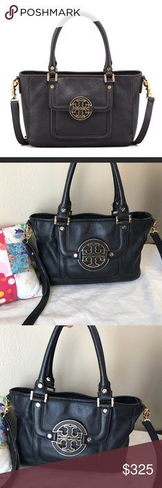 TORY BURCH SMALL AMANDA BAG It's a used bag and shows sighs of wear. Come with cross body strap and dust bag. Open to trade! TV $450 Tory Burch Bags