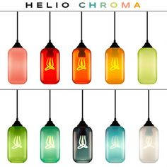 Instagram media by nichemodern - This week at #Euroluce in #Milan, we have unleashed the #Helio Collection! Available in new, #translucent and #opaque #colors, the Helio Chroma #pendant is sure to brighten your day! If you can't say hello to Helio at the #Niche x @Plumen booth in Milan this week, you can meet the new colors right here! Joining Tulip, Clementine, and Opaline, we now introduce Flamingo, Tangerine, Mint, Kiwi, Jade, Storm, and Cielo to complete this chromatic bunch!