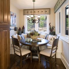 Modern Breakfast Nook | Contemporary Eclectic Modern Traditional Asian Mediterranean Tropical