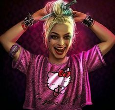 ~Margot Robbie As Harley Quinn In Suicide Squad ~ Joker Y Harley Quinn, Harley Quinn Drawing, Margot Robbie Harley Quinn, Joker Joker, Joker Cosplay, Dc Cosplay, Humour Geek, Harey Quinn, Drawing People