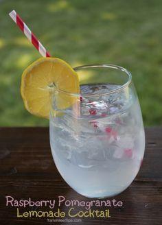 Smirnoff Raspberry Pomegranate Lemonade Cocktail
