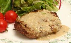 Blue Cheeseburgers Maidrites Recipe, Danish Blue Cheese, Blue Cornmeal, Blue Cheese Burgers, Cheeseburger Recipe, Stuffed Mushrooms, Stuffed Peppers, Cheeseburgers, Recipe Ratings