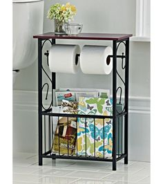 Gramercy Scroll Design Bathroom Table-Home and Garden Design Ideas