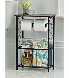 Gramercy Scroll Design Bathroom Table-Home and Garden Design Ideas