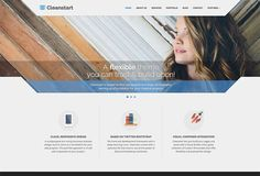 CleanStart, nice business theme