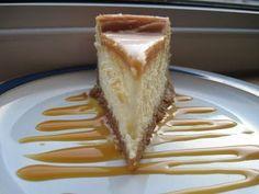 White Chocolate Caramel Cheesecake | Cocinando con Alena