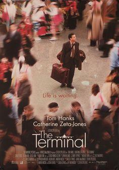 The Terminal by Steven Spielberg, 2004 (Tom Hanks, Catherine Zeta-Jones) Streaming Movies, Hd Movies, Movies Online, Movies And Tv Shows, Hd Streaming, Catherine Zeta Jones, Tom Hanks, See Movie, Movie Tv