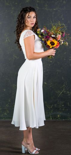 Introducing the first dress-less bridal collection offering brides & bridesmaids a range of luxury jumpsuits, playsuits and two pieces all handmade in England. Bridal Skirts, Wedding Skirt, Waterfall Design, London Models, Bridal Jumpsuit, Bridal Separates, Alternative Wedding Dresses, Brides And Bridesmaids, Silk Crepe