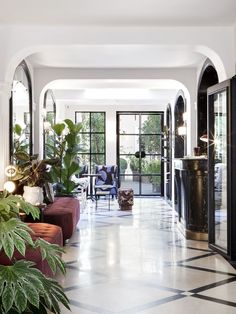 Tour a Charming Parisian Hotel That Just Got an Amazing Makeover - Dwell