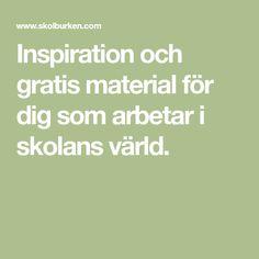 Min plats i världen Science Art, Teaching, Inspiration, Math, School, Experiment, Sink Tops, Biblical Inspiration, Math Resources