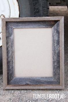 Barnwood Frame 16x20 - Plain