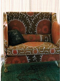 Suzani couch