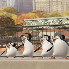 Scene from The Penguins of Madagascar