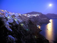 Greece at night....so picturesque