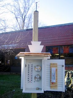 Weather Station- measurements can be taken daily and recorded within the classroom to determine patterns and learn about the weather.