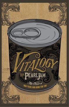 pearl jam, vitalogy Tour Posters, Band Posters, Music Posters, Retro Posters, Design Posters, Pearl Jam Vitalogy, Pearl Jam Posters, Grateful Dead Music, Pearl Jam Eddie Vedder