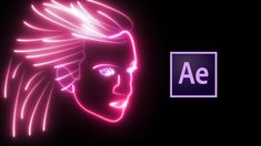 Neon Face Animation Tutorial with VideoCopilot SABER   After Effects CC ...