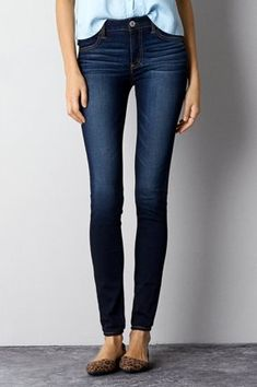 Hi-Rise , Storm Dark | American Eagle Outfitters